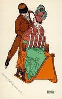 Wiener Werkstätte 287 Geyling, Remigius I- - Künstlerkarten