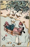 Wiener Werkstätte 335 Teschner, Richard I- - Künstlerkarten