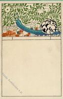 Wiener Werkstätte 549 Pranke, Maria I- - Künstlerkarten