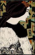 WIENER WERKSTÄTTE 769 - Maria LIKARZ - Mode  I-II - Künstlerkarten
