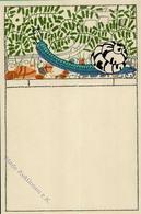 WIENER WERKSTÄTTE Nr. 549 - Schmuckkarte - Unbekannter Künstler I - Künstlerkarten