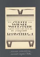 Wiener Werkstätte  Werbung Stoffladen Maysederg 4 Entw. Peche, Dagobert I-II Publicite - Künstlerkarten