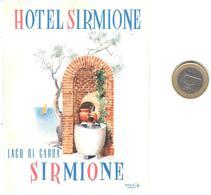 ETIQUETA DE HOTEL  -  HOTEL SIRMIONE  -LAGO DI GARDA -SIRMIONE  -ITALIA - Hotel Labels