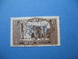 Perforé Perfin Maroc, Perforation :   BEM 5   à Voir - Marokko (1891-1956)