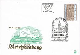 32542. Carta F.D.C. REICHERSBERG (austria) 1984. St. Gabriel, 900 Jahre Reichersberg - FDC