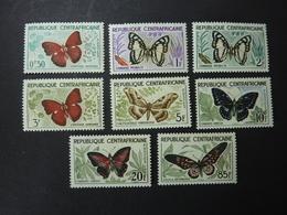 REP. CENTRAFRICAINE, Année 1960-61, YT N° 4 à 11 Neufs MNH**, Série Complète - Centrafricaine (République)