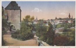 Luxembourg - Porte De Trèves - Postmarked 1933 - Luxemburg - Stad