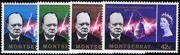 Montserrat 1966 Churchill Unmounted Mint. - Montserrat