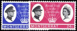 Montserrat 1966 Royal Visit Unmounted Mint. - Montserrat