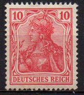 GERMANY REICH : B051  -  1902  Fine Mint  10 P.  -  Yvert  € 15 - Nuovi