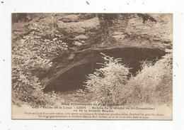 Cp , 25 ,  LODS ,  Entrée De La Grotte De SAINT CROUSTILLERI , Vierge - Francia