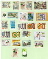 N. 25 Francobolli Uati Repubblica - 1981-90: Usati