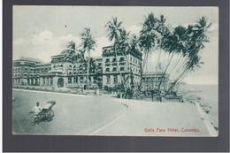 CEYLON Colombo, Galle Face Hotel 1911 OLD POSTCARD - Sri Lanka (Ceylon)