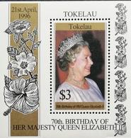 Tokelau  1996 Queen Elizabeth Ii, 70th. Birthday S/S - Tokelau