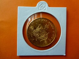 Kuba/ Cuba,1 Peso, 1990, EN ALTA MAR RUMBO OESTE, Vergoldet, Coin Gold-plated, Moneda Dorada - Cuba