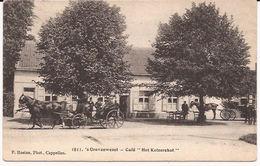 's-Gravenwezel Café HET KEIZERSHOF 1811 HOELEN  729/d3  Stempel 1908 Attelages Koetsen - Belgien