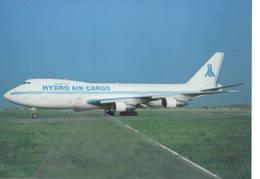 Hydro Air Cargo B747-358 C ZS-OOS Oostend - 1946-....: Era Moderna