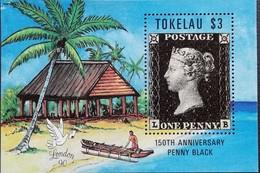 Tokelau 1990 Penny Black ,150th. Anniv - Tokelau