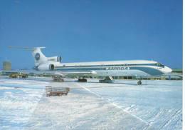 Alrosa Tupolev TU-154 Alrosa Mirnyj Air Enterprise Russia RA-85684 At Mosca - 1946-....: Era Moderna