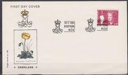 Grönland 1983 FDC Nr.141 Königin Margarethe II. ( D 2782) Günstige Versandkosten - FDC