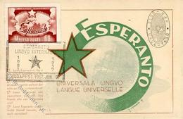 Esperanto Budapest Ungarn I-II - Esperanto