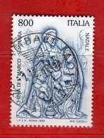 Italia ° - Anno 1998 - NATALE  . Unif.2425.   Vedi Descrizione. - 6. 1946-.. Republik