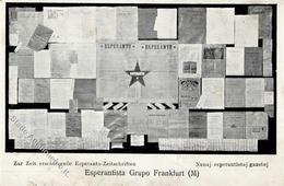 Esperanto Frankfurt (6000) Internationale Zeitungs Ausstellung  I-II Expo - Esperanto