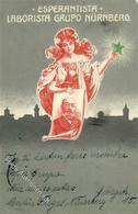 Esperanto Nürnberg (8500) Esperantista Laborista Grupo 1911 I-II (fleckig) - Esperanto