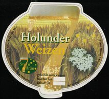 Autriche Etiquette Bière Beer Label 7 Stern Bräu Holunder Weizen - Cerveza