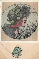 Seide (gewebt) MUCHA, Alphonse I-II Soie - Ansichtskarten