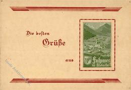 Seide Fulpmes (6166) Österreich Gewebt I-II Soie - Ansichtskarten