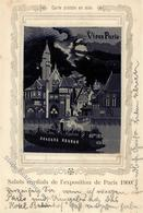 Seide Gewebt Exposition Paris Künstlerkarte 1900 I-II Soie - Ansichtskarten