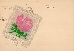 Seide Rose I-II Soie - Ansichtskarten