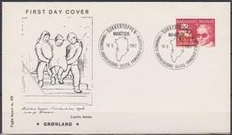 Grönland 1983 FDC Nr.142 Behindertenhilfe ( D 3210) Günstige Versandkosten - FDC