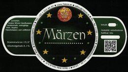 Autriche Etiquette Bière Beer Label 7 Stern Bräu Märzen - Cerveza