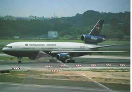 Bangladeh Airlines S2-ADN DC-10-30 McDonnell Douglas DC10 At Singapore - 1946-....: Era Moderna