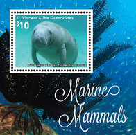 St Vincent 2016 - Mammifères Marins - BF Neufs // Mnh - St.Vincent & Grenadines