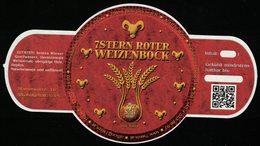 Autriche Etiquette Bière Beer Label 7 Stern Bräu Roter Weizenbock - Cerveza