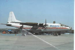 Mandala Air Cargo Indonesia Antonov AN8 3C-DDA AN-8 At Sharjah - 1946-....: Era Moderna
