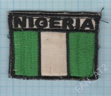 Nigeria / Patch Abzeichen Parche Ecusson / Peacekeeping Mission.  Liberia. Africa. Velcro. - Ecussons Tissu
