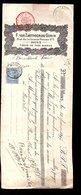 1897 F. Van Zantvoorde-Gorin Rue De La Grosse Pomme 5 Mons Tiissus En Tous Genres  (580) - 1893-1900 Schmaler Bart