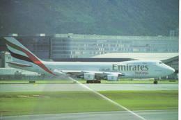 Emirates Cargo Boeing B747-47UF N408NC At Hong Kong - 1946-....: Era Moderna