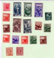 N. 18 Francobolli Usati Da Regno A Repubblica - 1944-46 Lieutenance & Humbert II