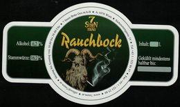 Autriche Etiquette Bière Beer Label 7 Stern Bräu Rauchbock - Bière