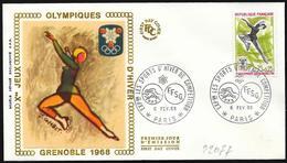 Francia/France: Pattinaggio, Skating, Patinage - Inverno1968: Grenoble