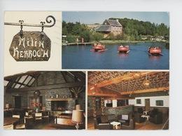 Sizun - Milin Kerroc'h : L'auberge, M. Mme. Léon Propriétaire (panoramique étang Pêche, Discothèque Salle) - Sizun