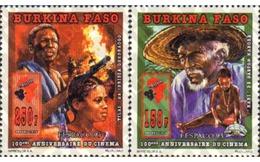 Ref. 368496 * MNH * - BURKINA FASO. 1995. CINEMA CENTENARY . CENTENARIO DEL CINE - Burkina Faso (1984-...)