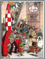 Belgien**COMICS MUSEUM-TINTIN RAKETE-BLOCK-SPIROU-LUCKY LUKE-2009-cartoons - Disney
