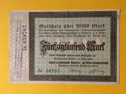 Deutsch Luxemburgische Bergwerks Und Hütten AG / Mülheim An Der Ruhr - 50 Tausend Mark - Luxemburg