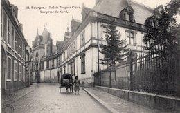 B56810 Cpa 18 Bourges - Palais Jacques Coeur - Bourges